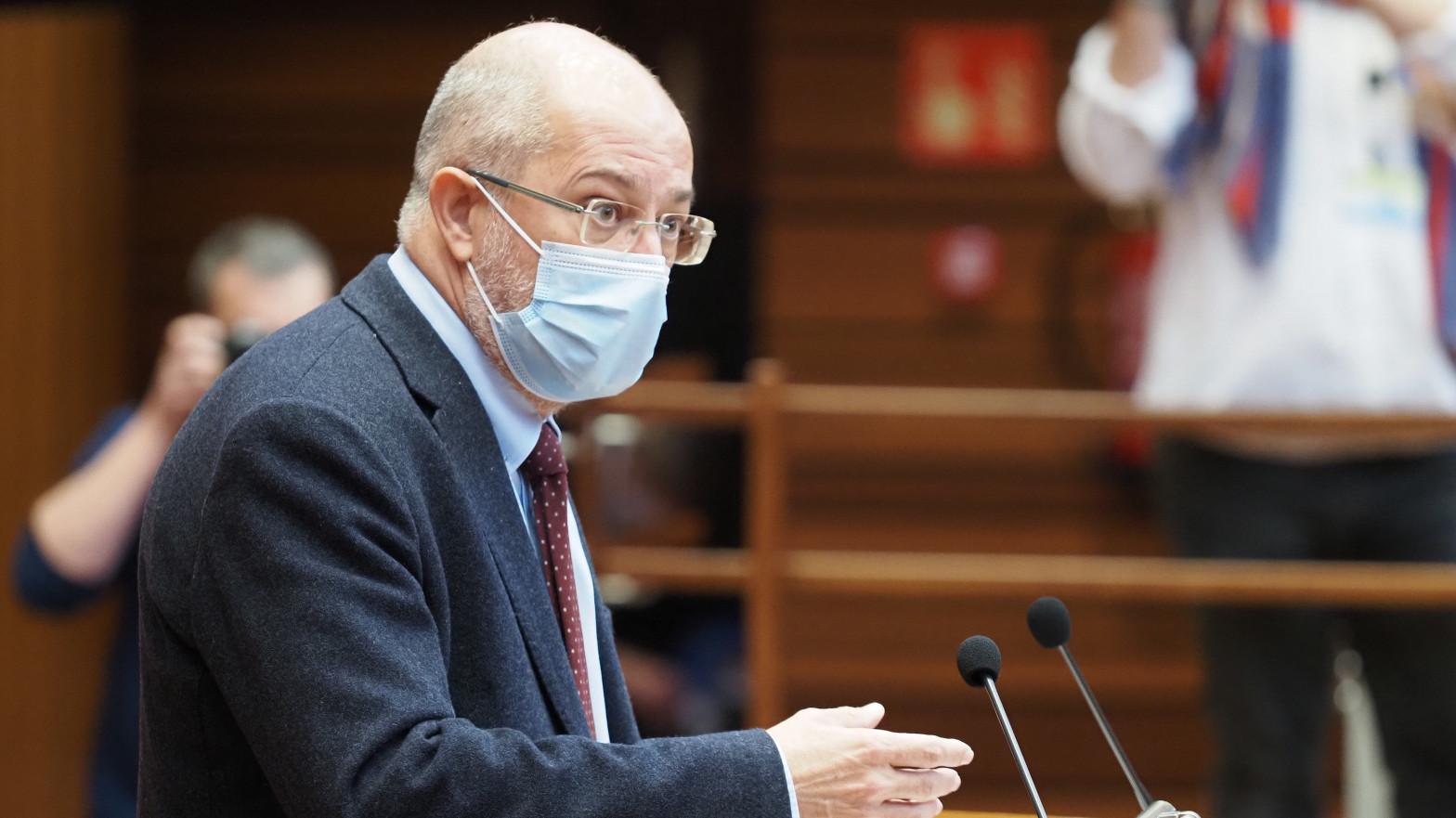 Igea (Ciudadanos) denuncia que la moción se ha fraguado en Moncloa y apunta a Iván Redondo