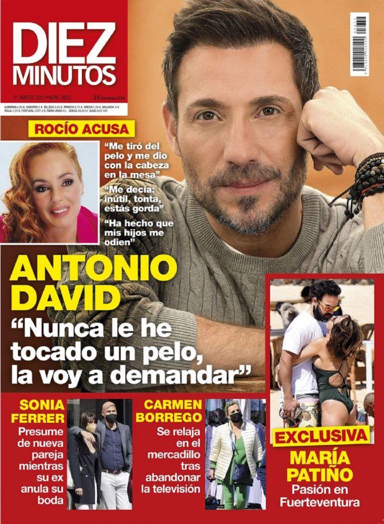 Antonio David Flores habla en la revista Diez Minutos