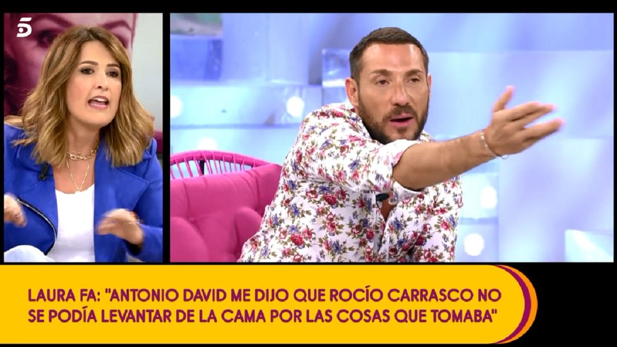 Laura Fa desvela que Antonio David Flores le dijo que Rocío Carrasco tenía ciertas adicciones