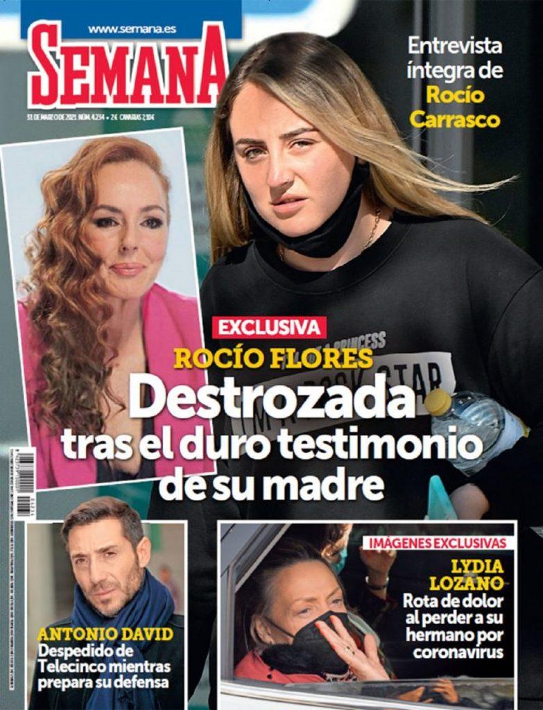 Rocío Flores esta destrozada tras el documental