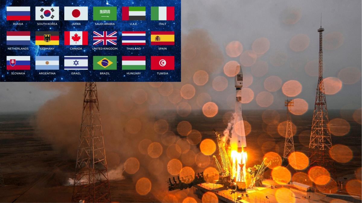 La Generalitat esconde una bandera española presente en el lanzamiento de su nanosatélite