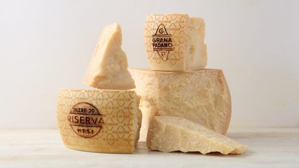 quesos italia vaca grana padano
