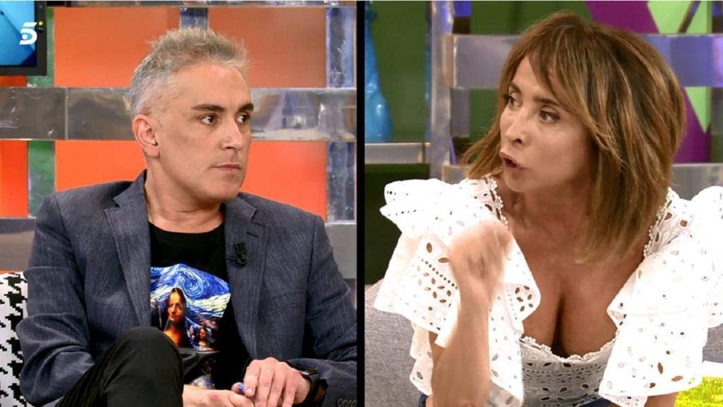 Kiko Hernández y María Patiño se enfrentan por el tema de Rocío Carrasco