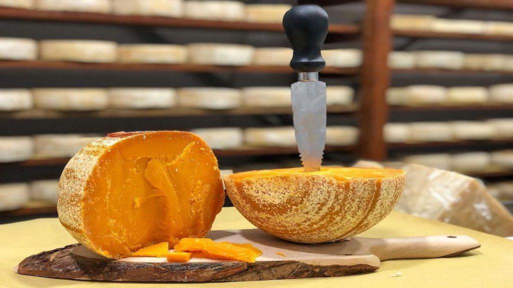 quesos francia vaca mimolette