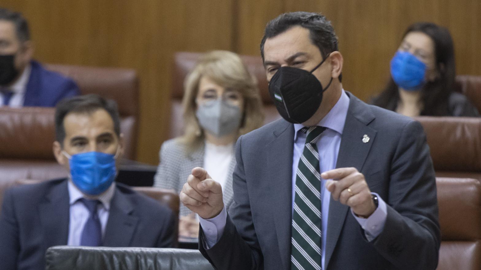 Juanma Moreno, positivo por coronavirus