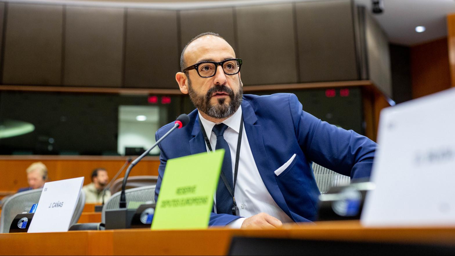 """Jordi Cañas: """"Pedir explicaciones en Bruselas por el rescate de Plus Ultra es defender los intereses de España"""""""