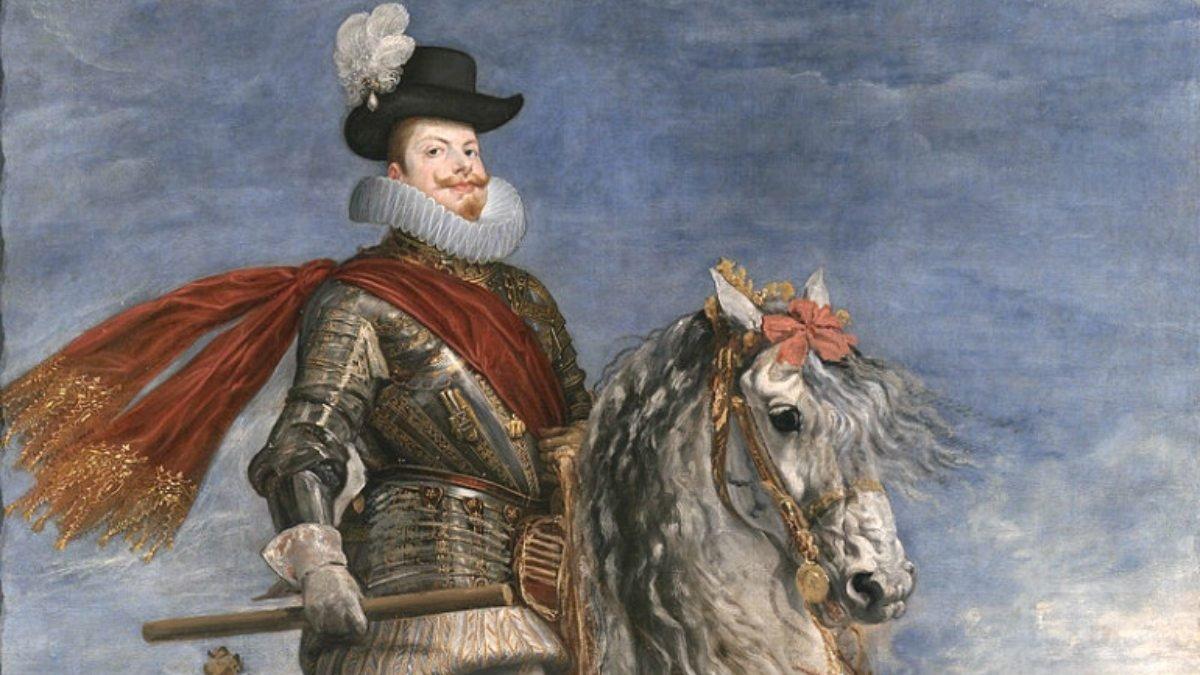 El Rey de España, Felipe III.