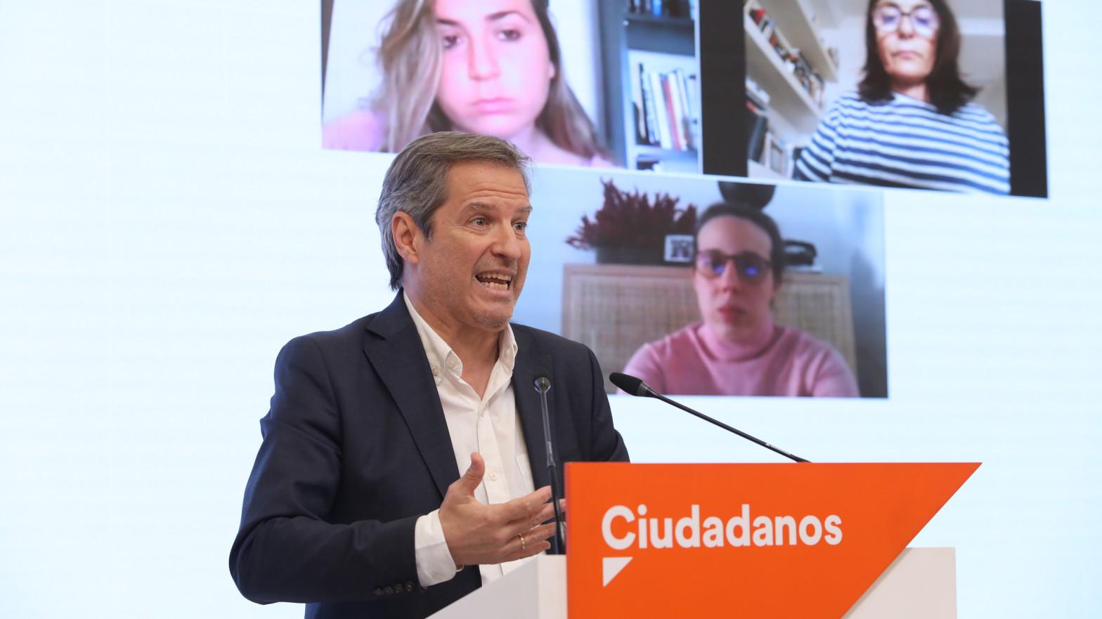 Ciudadanos activa la expulsión de Toni Cantó tras ser fichado por Ayuso