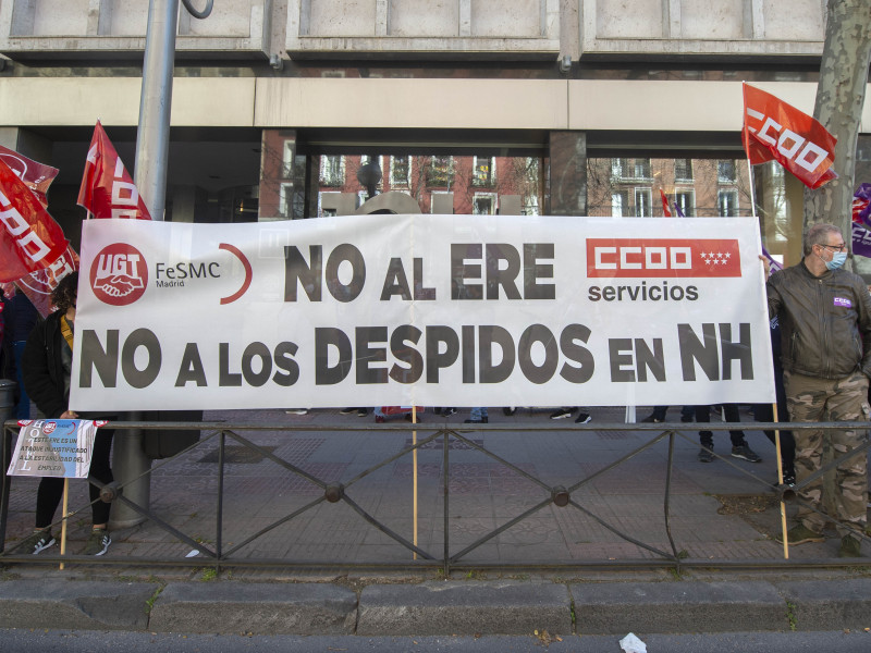 NH Hoteles retira el ERE en su Central de Reservas y evita 94 despidos