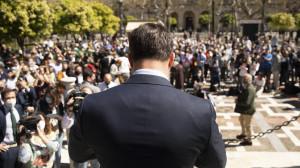 Abascal reconoce que las encuestas no dan buen resultado a Vox en Madrid