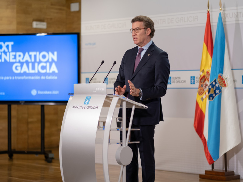 """Feijóo carga contra Sánchez tras el recurso a la ley gallega de salud: """"Vaya idea de cogobernanza"""""""