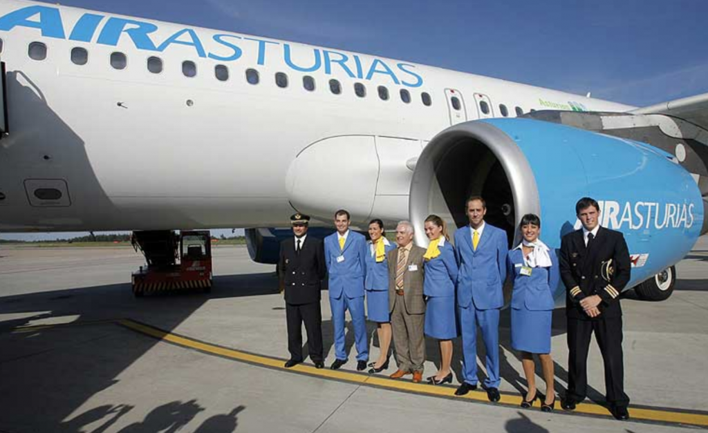 Plus Ultra- Air Asturias