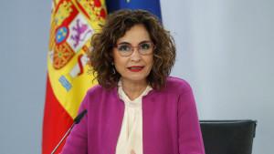 La ministra de Hacienda anunció el rescate a Plus Ultra