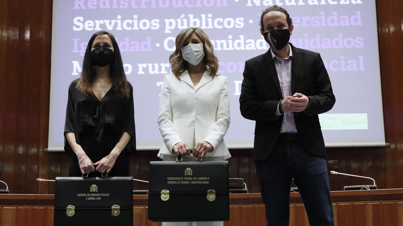 """Yolanda Díaz busca """"tropas"""" en los sindicatos para afianzar su liderazgo en Unidas Podemos"""