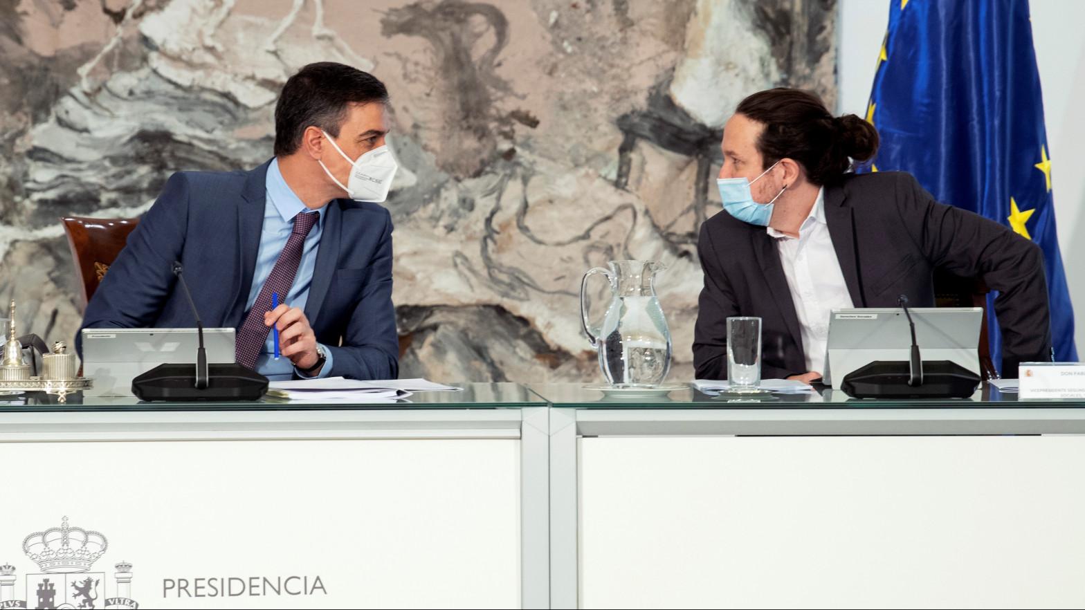 Pablo Iglesias lanza a un dardo a Iván Redondo por no dejarle despedirse desde Moncloa