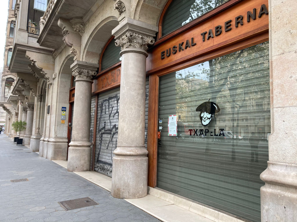 Restaurante Txapela Paseo de Gracia