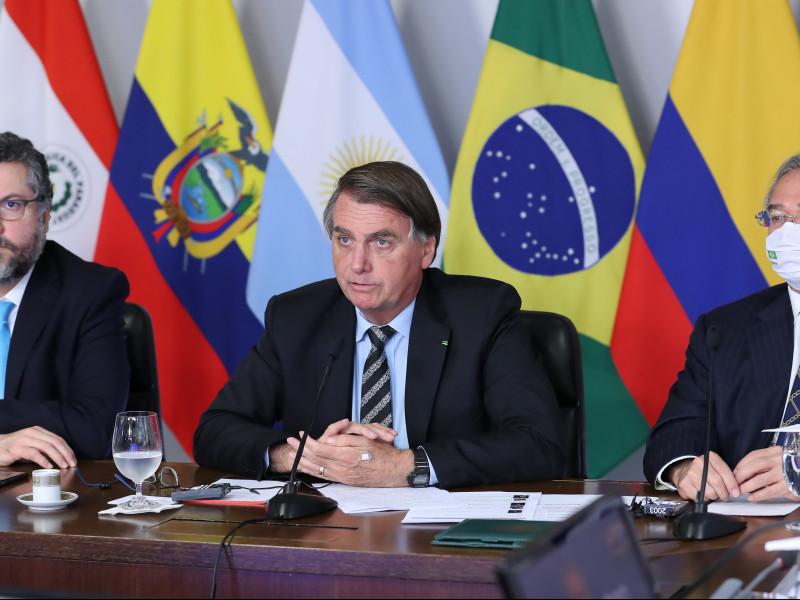 """Brasil pide a la ONU anticipar la entrega de vacunas ante la """"dramática"""" situación provocada por la covid"""