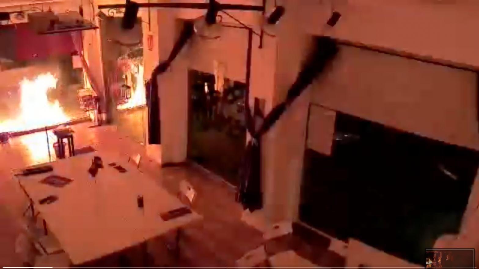 Atacan con material explosivo la sede de Podemos en Cartagena
