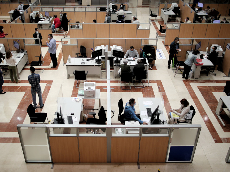 Los trabajadores afectados por ERTE podrán devolver el importe de la Renta en seis meses