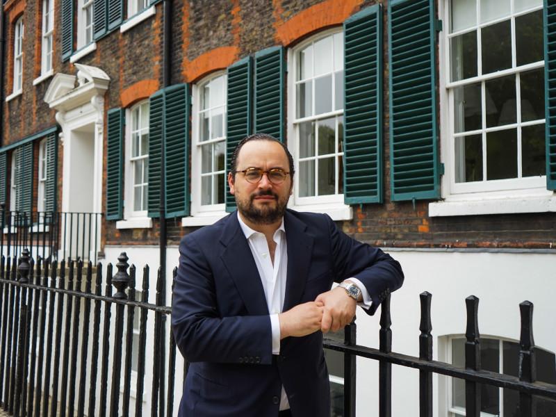 Ignacio Peyró, en Londres
