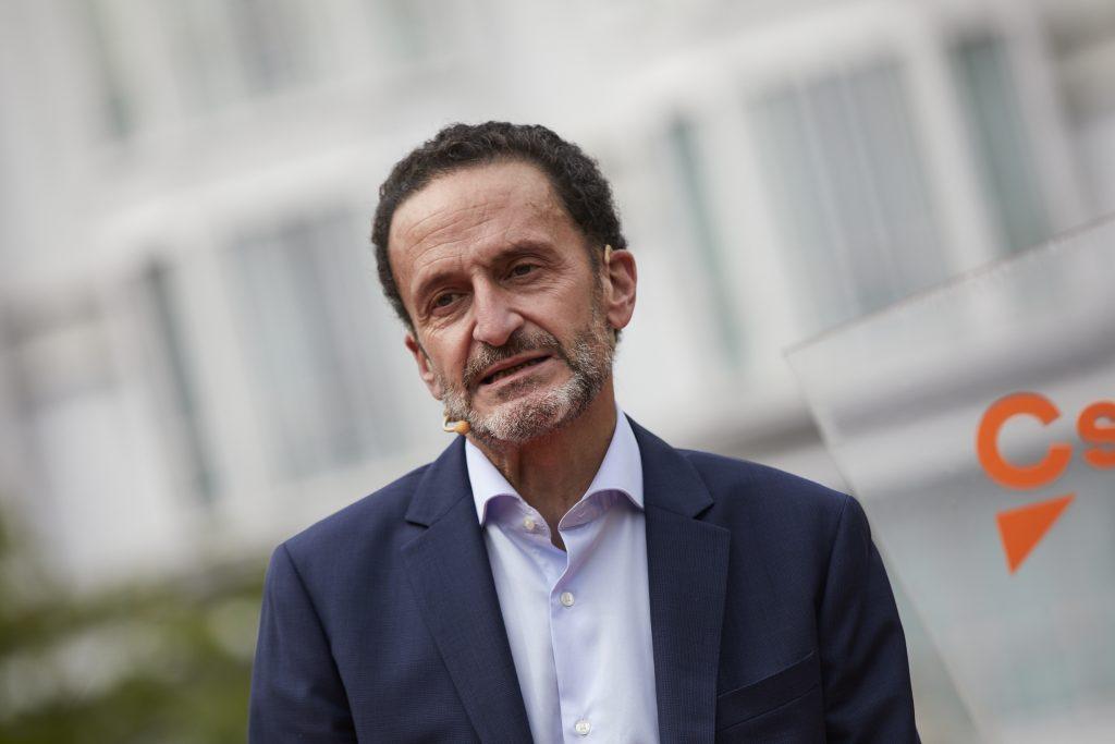 El líder de Ciudadanos en la Comunidad de Madrid, Edmundo Bal, durante su presentación a las elecciones. Europa Press.