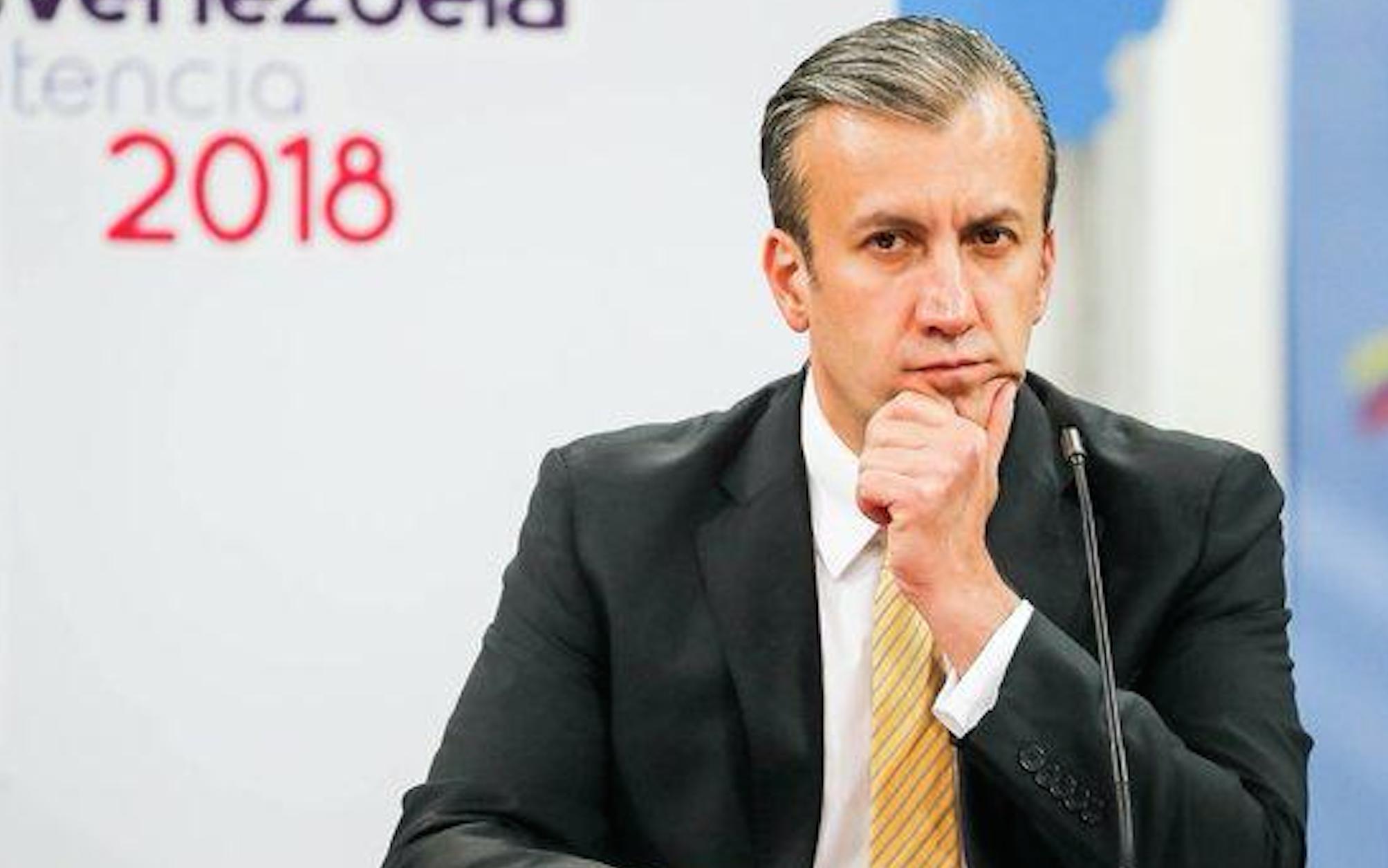 Tareck El Aissami se vio con el magnate ligado a los dueños de Plus Ultra