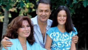 Rocío Jurado, Pedro Carrasco y la hija de ambos, Rocío Jurado