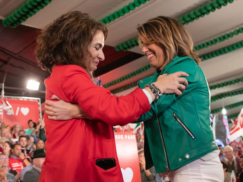 La comisión de la Faffe vuelve a citar a Susana Díaz y a María Jesús Montero