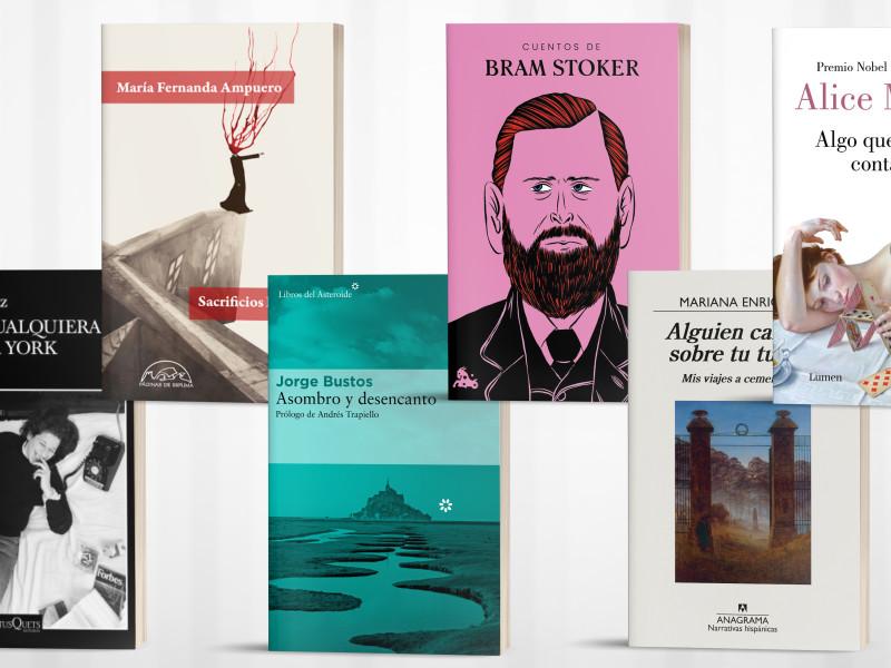 Seis libros de crónica, prosa y cuento.