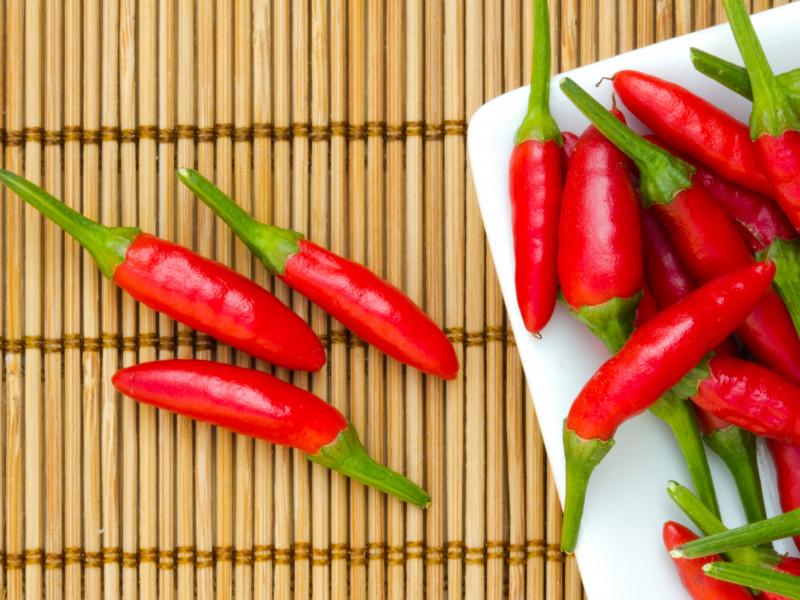 Los alimentos picantes aceleran el metabolismo
