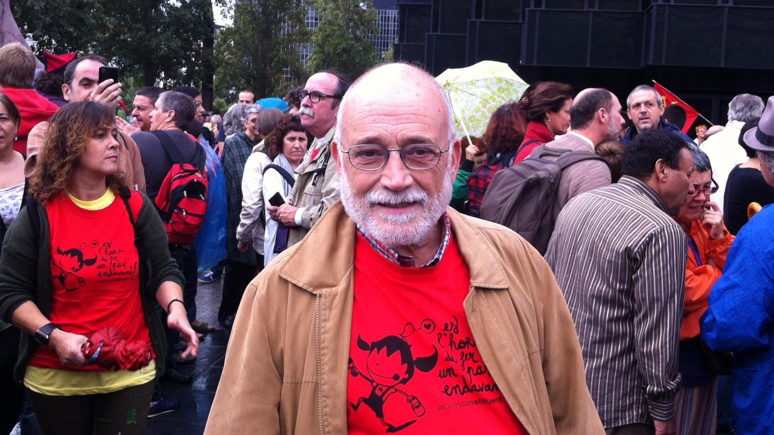 Fallece a los 76 años el economista y activista social Arcadi Oliveres