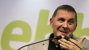 Otegi denuncia su bloqueo en redes sociales por hablar del fundador de ETA