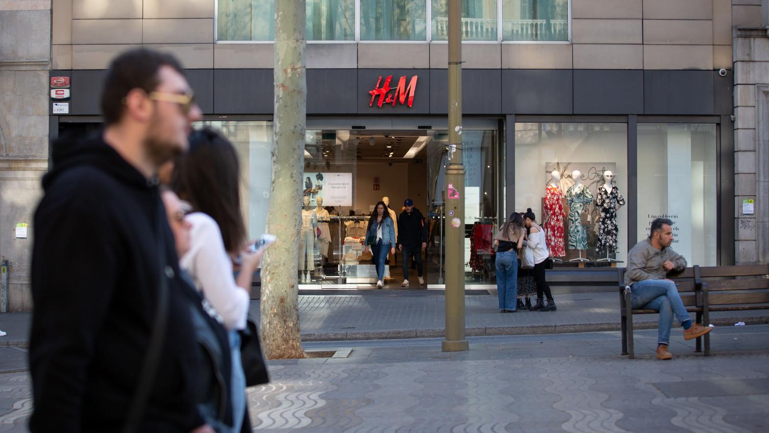 H&M plantea un ERE en España que afectará a un máximo de 1.100 trabajadores