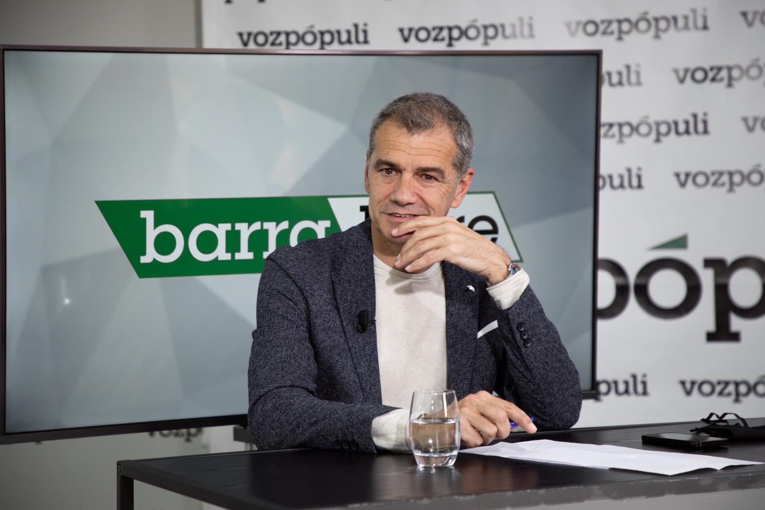Toni Cantó en entrevista con Vozpópuli