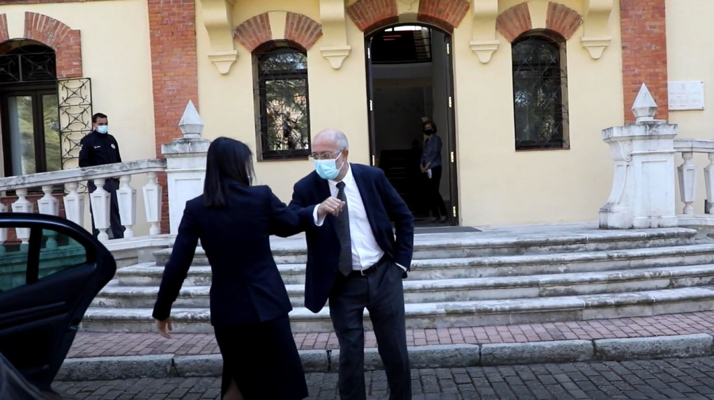 Arrimadas humilla a Igea en su visita a Castilla y León