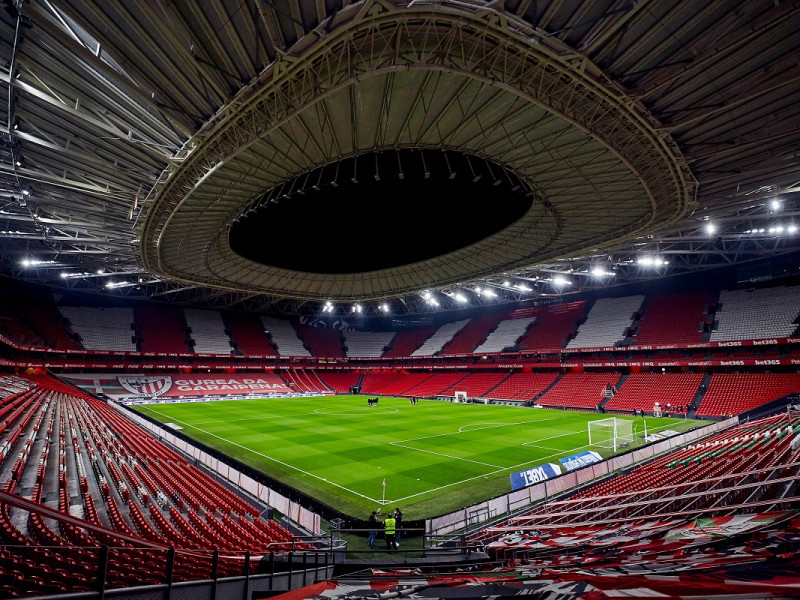San Mamés podrá acoger hasta 13.000 espectadores en los partidos de la Eurocopa