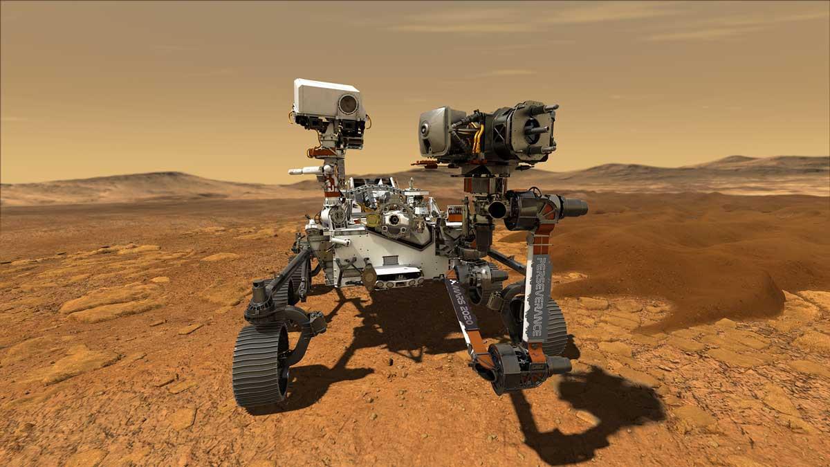 España da el parte meteorológico en Marte