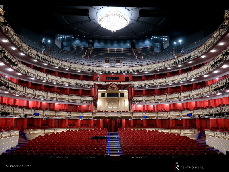 Sala principal del Teatro Real.