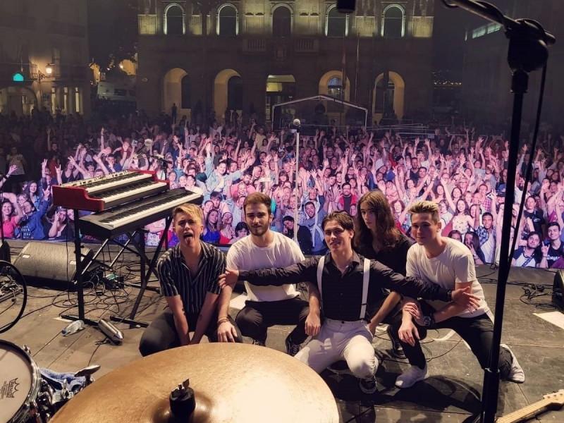 'Staytons' en el Vive Festival.