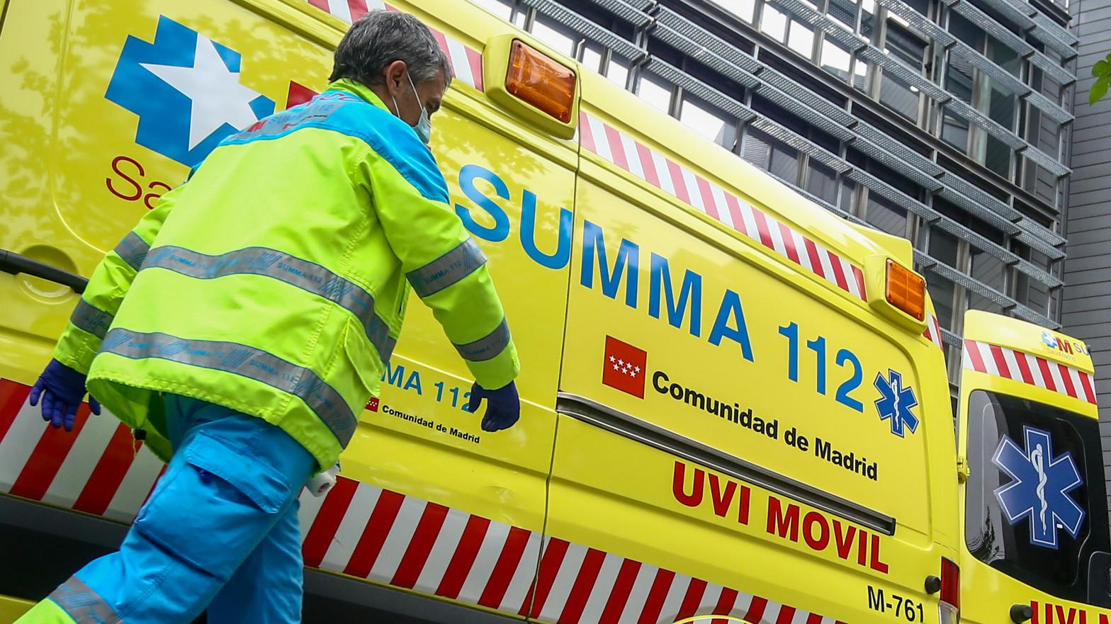 Dos heridos graves tras una explosión de un cuadro eléctrico en Fuenlabrada (Madrid)