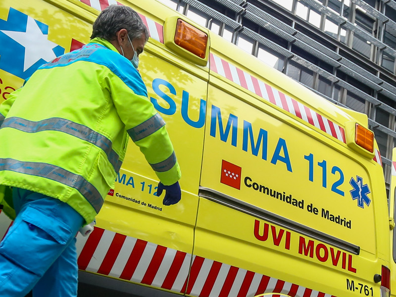 Dos operarios heridos graves en explosión de cuadro eléctrico en Fuenlabrada