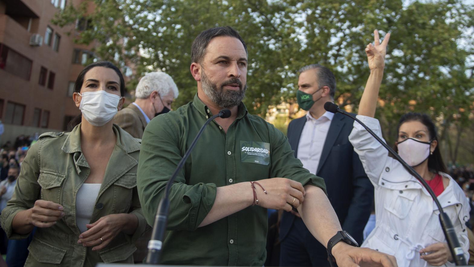 """Vox llama a los trabajadores a """"salir a la calle"""" el 1 de mayo """"frente a los sindicatos de clase"""""""