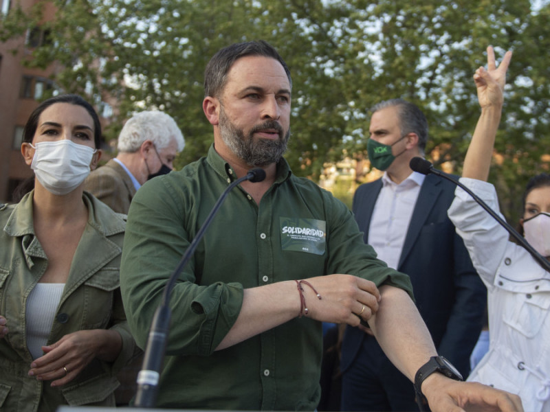 La delegada del Gobierno en Madrid denuncia que los mítines de Vox no cumplen las medidas sanitarias
