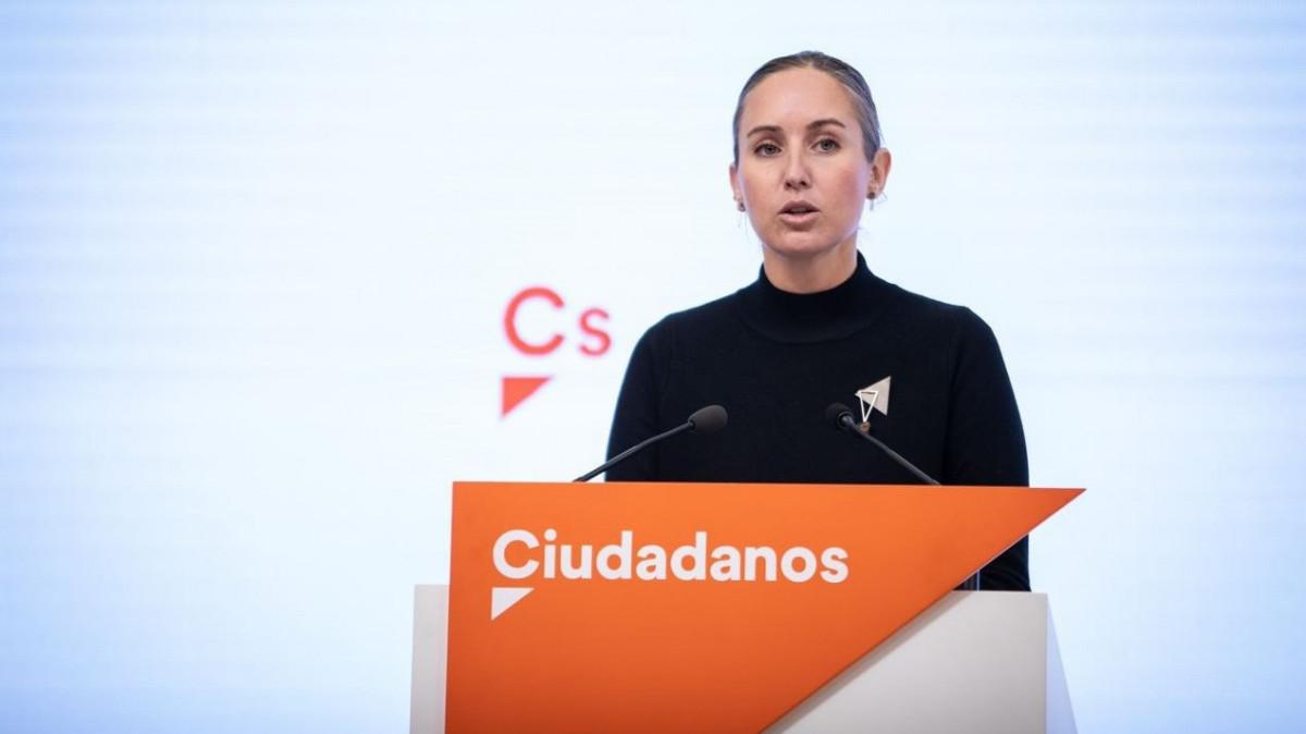 La portavoz adjunta de Ciudadanos deja su cargo en el partido y abandona la política