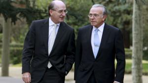 Antonio Brufau e Isidro Fainé