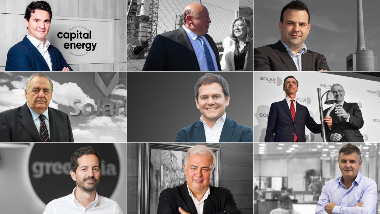 Empresarios de las energías renovables