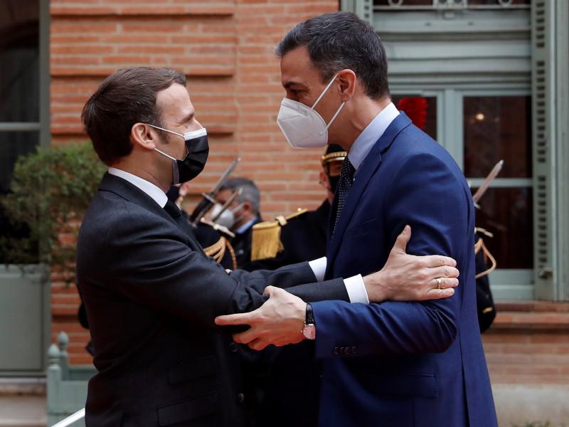 Sánchez se reúne con Macron en la XXVI Cumbre hispano-francesa