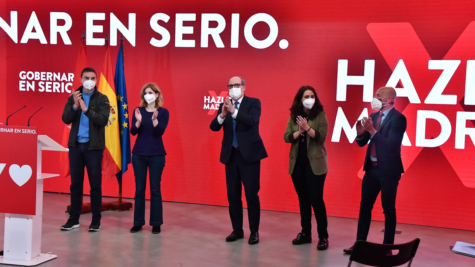 """El PSOE de Madrid se desmarca de la campaña de Moncloa :""""Están humillando a Gabilondo"""""""