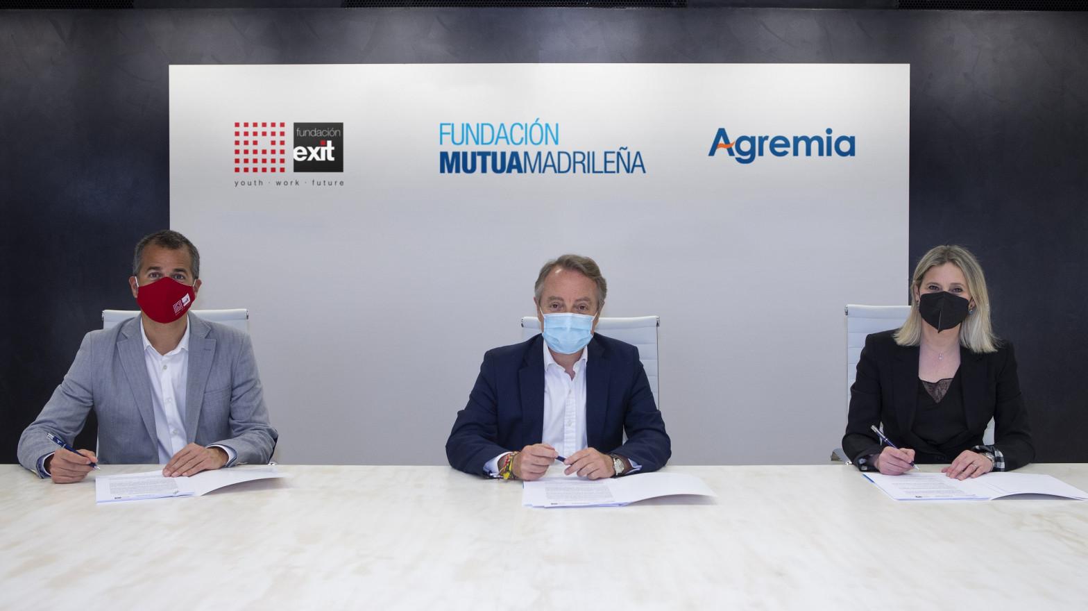 Fundación Mutua Madrileña, Exit y Agremia formarán a jóvenes vulnerables como técnicos de instalaciones de energía