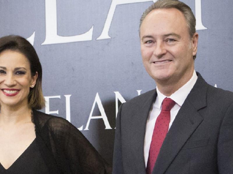 Silvia Jato y Alberto Fabra se han casado